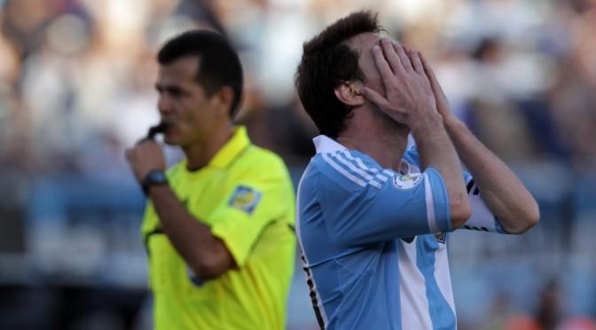 Argentina juega acojonada