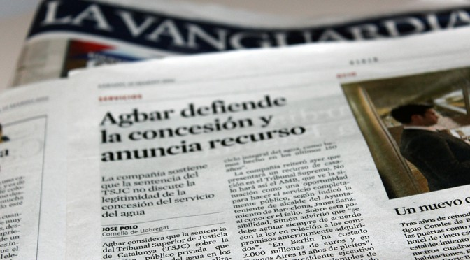 Arrancando en La Vanguardia